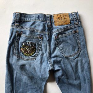 Price Reduced! Ed Hardy Kids Bulldog Vintage Jeans